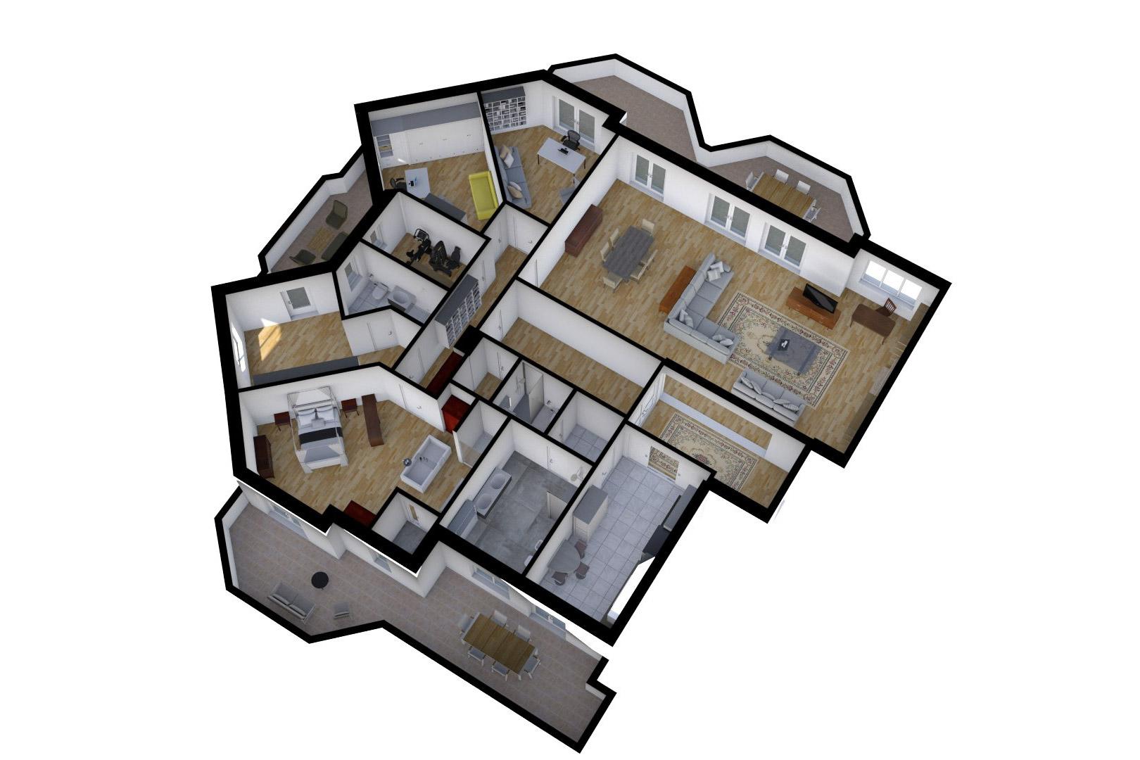 Planimetrie real estate virtual reality for Software per planimetrie